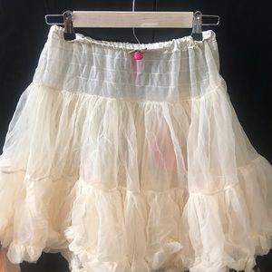 New. Never worn Betsey Johnson tutu